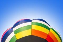 Bunt vom Heißluftballon Lizenzfreies Stockbild