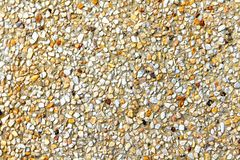 Bunt vom Kiesbeschaffenheitshintergrund Stockbilder