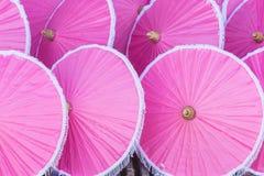 Bunt vom Regenschirm in Chiang Mai-Markt Lizenzfreie Stockfotografie