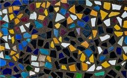 Bunt von den Mosaikfliesen stockfotos