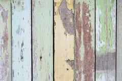 Bunt von der hölzernen Farbe Stockbild
