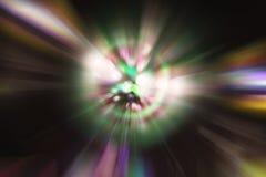 Bunt von der Leuchte Stockfotografie