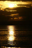 buntal soluppgångby Royaltyfria Bilder