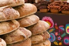Buntar av bröd Fotografering för Bildbyråer