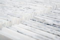 Buntar av marmortegelplattor Royaltyfri Foto