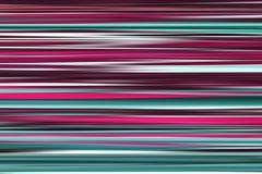 Bunte abstrakte helle Linien Hintergrund, horizontale gestreifte Beschaffenheit in den purpurroten und cyan-blauen T?nen lizenzfreie abbildung