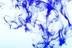 Bunte Abstraktion auf weißem Hintergrund Stockfotos