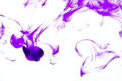 Bunte Abstraktion auf weißem Hintergrund Lizenzfreies Stockbild