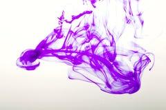 Bunte Abstraktion auf weißem Hintergrund Lizenzfreies Stockfoto