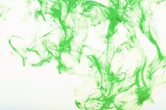Bunte Abstraktion auf weißem Hintergrund Stockfoto