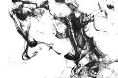 Bunte Abstraktion auf weißem Hintergrund Stockbild