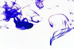 Bunte Abstraktion auf weißem Hintergrund Stockbilder