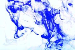 Bunte Abstraktion auf weißem Hintergrund Stockfotografie