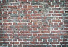 Bunte alte Backsteinmauerbeschaffenheit Stockfotos