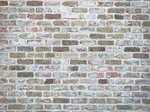 Bunte alte Backsteinmauerbeschaffenheit Lizenzfreies Stockfoto
