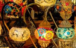 Bunte arabische laterns Lizenzfreie Stockbilder