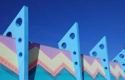 Bunte Architektur Lizenzfreies Stockbild