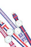 Bunte Armbanduhr 2 Lizenzfreie Stockbilder