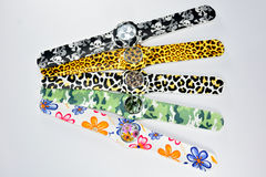 Bunte Armbanduhr 9 Lizenzfreies Stockbild