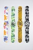 Bunte Armbanduhr 14 Stockbilder