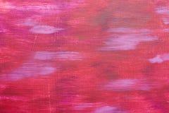 Bunte Bürste von schürt Rosa Farben Landschaft mit Fluss und Wald Livefarben und Grafik Wirkliches Meisterwerk Aquarellbild Bunte Lizenzfreie Stockfotografie