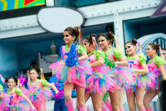 Bunte ballett Mädchen Lizenzfreie Stockfotos