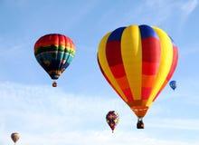 Bunte Ballone Stockbild