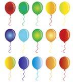 Bunte Ballone stock abbildung