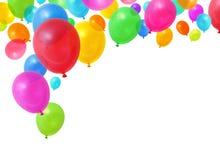 Bunte Ballone Lizenzfreie Stockfotografie