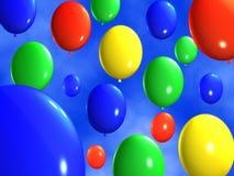 Bunte Ballone Stockfotos