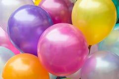 Bunte Ballone Stockfoto