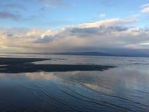 Bunte beachy Himmel Stockbild