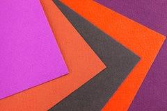 Bunte Blätter Papier lizenzfreies stockbild