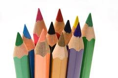 Bunte Bleistifte Stockfoto
