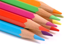 Bunte Bleistifte. Stockfoto