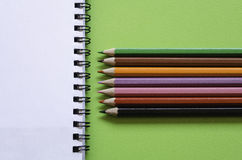 Bunte Bleistifte Lizenzfreie Stockfotografie