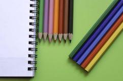 Bunte Bleistifte Lizenzfreies Stockbild