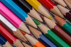 Bunte Bleistifte Lizenzfreie Stockfotos