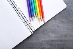 Bunte Bleistifte Stockbilder
