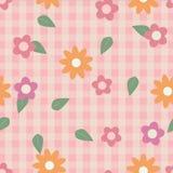 Bunte Blume und Illustrations-Hintergrund Farbe der Blätter schäbiger schicker Lizenzfreie Stockfotos