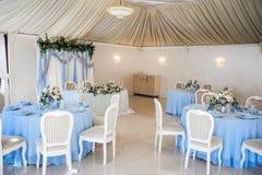 Bunte Blumen der Hochzeitsdekorationen, Stockbilder