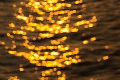 Bunte bokeh Kunst des Wasserlichtes Lizenzfreies Stockbild
