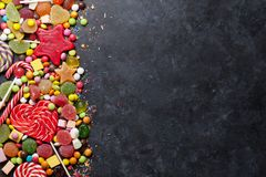 Bunte Bonbons Lizenzfreie Stockfotos