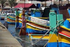 Bunte Boote stockfotografie