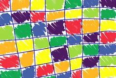 Bunte brushs gemalt lizenzfreies stockfoto