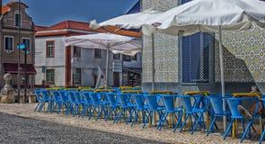 Bunte Café-Stange Stockfotos