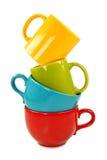 Bunte Cup Stockfoto
