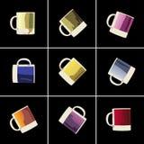 Bunte Cup Lizenzfreies Stockfoto