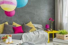 Bunte dekorative Kissen Lizenzfreie Stockbilder