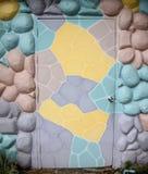 Bunte Designe von Türen Lizenzfreie Stockbilder